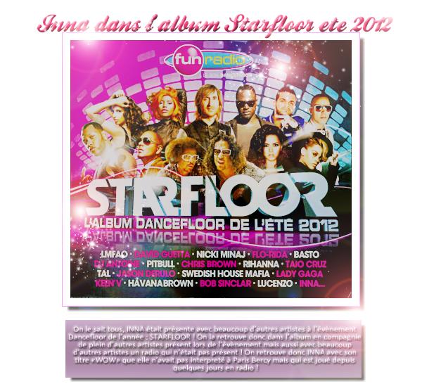 → INNA dans l'album Starfloor été 2012