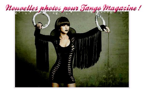 → Nouvelles photos pour le magazine Tango !