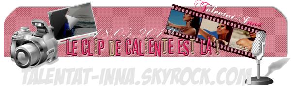 → Le clip Caliente est là !+ une photo du tournage !