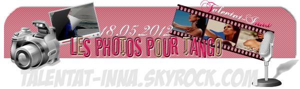 → Les dernières photos pour le magazine Tango !