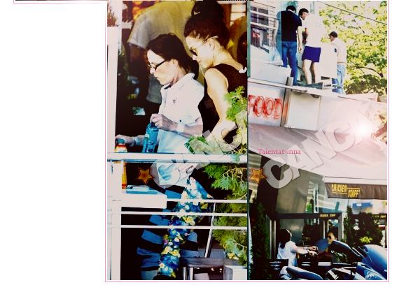 → INNA au fast food avec sa maman+ 1.000.00 de vues pour Caliente le clip !♥+ INNA au Qatar il y a quelques jours