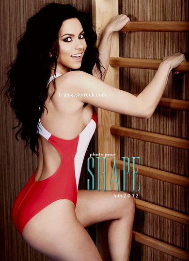 """☼ INNA pour le magazine roumain """" Ca se intampla doctore ?"""" un magazine sur la santé. + Une nouvelle photo du magazine """"Shape"""" de juin 2012"""
