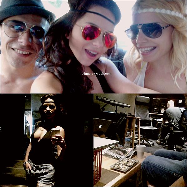 ☼ INNA à Venice Beach aux USA avec The marker, un de ses danceurs, et Anca. + Des photos personnelles, 2 à Venice Beach et une très récente de INNA en studio !