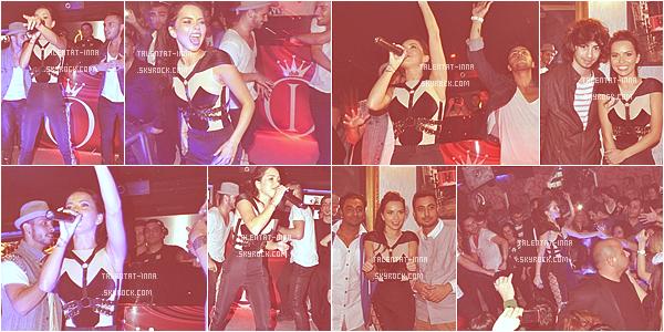 ► INNA en Turquie à Istanbul au Taksim Club IQ + Une photo postée le 11.11.2012 d'un nouveau photoshoot !