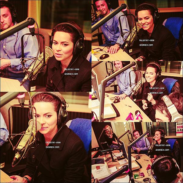 16 . 03 . 2013 INNA en Live sur Kiss FM le 15 Mars 2013