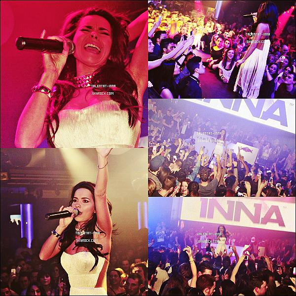 19 . 03 . 2013 Show à Locarno en Suisse au vanilla Club le 16 mars 2013