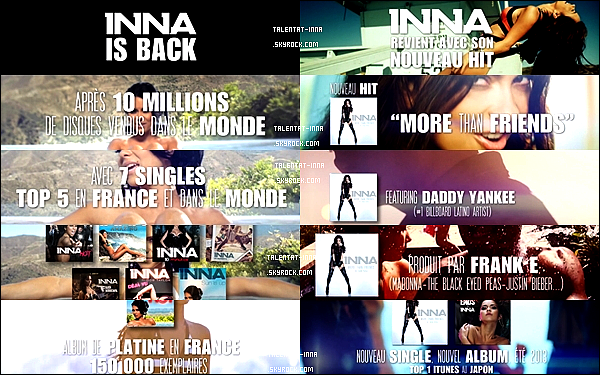 05 . 04 . 2013 INNA IS BACK IN FRANCE !