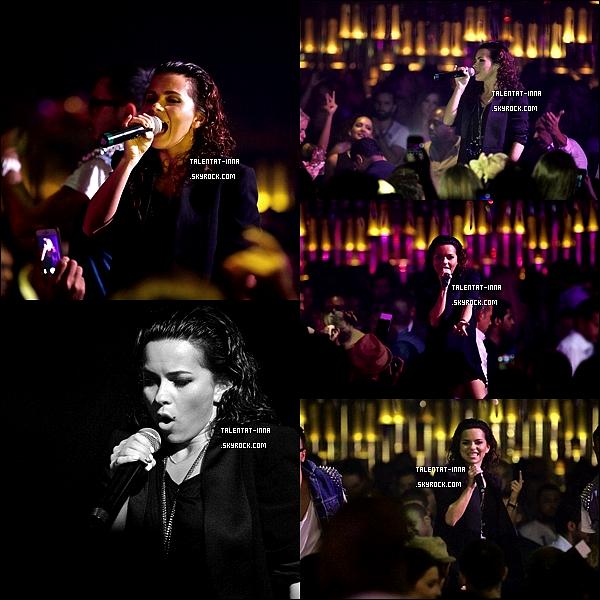 19 . 04 . 2013 INNA à Dubai au Cavalli Club