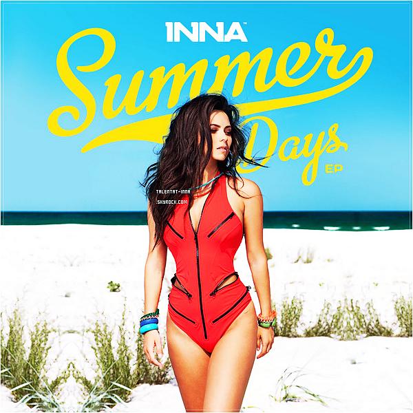 """▬ Photoshoot & EP ---------------------- • INNA a récemment réalisé un photoshoot pour le magazine mexicain """"Telehit"""". Les photos ne sont pas de très grande qualité pour le moment, je les ai trouvées comme ça et j'espère que celles de bonne qualité vont bientôt être  là  ! Et  INNA  sortira  ce  mois-ci  un  EP  nommé """"Summer Days"""" dont la photo est déjà sortie. L'EP comportera des titres produits par Play&Win et Axident • ---------------------- (♥) l'article pour être prévenu du prochain !"""