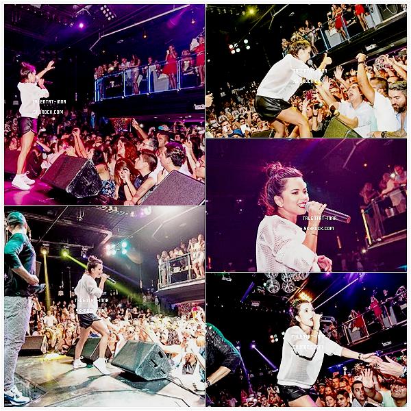 ▬ Show Live - Concerts ---------------------- • Le 9 Août 2014, INNA était en Espagne à la Palma de Mallorca au club Titos. Et était toute mignonne dans cette tenue ♥ • ---------------------- (♥) l'article pour être prévenu du prochain !