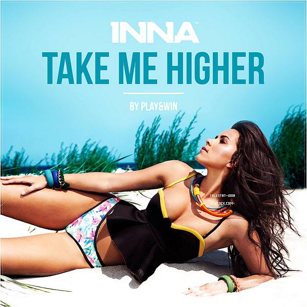 """▬ EP ---------------------- • INNA nous dévoile encore la """"pochette"""" d'un nouveau single tiré de l'EP """"Summer Days"""" qui sera disponible le 18 août en digital seule- -ment. Il s'agit cette fois de """"Take Me Higher"""" et d'autres singles seront dévoilés tous les jours je pense jusqu'à la sortie de l'EP. • ---------------------- (♥) l'article pour être prévenu du prochain !"""
