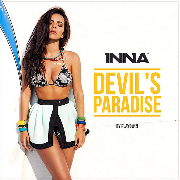 """▬ EP ---------------------- • (Ce post est exceptionnel, je peux aujourd'hui poster les news sur quelques  blogs  donc  à  venir ce soir pour les autres blogs !) INNA a une fois de plus dévoilé un single de """"Summer Days"""" cette fois il s'ag- -it de """"Devil's Paradise"""" .  Rien  n'a  été dévoilé hier mais d'après son instagram, des  affiches  des  singles de l'EP sont pour les fans. Affai- -re  à  suivre donc. On n'en sait pas plus pour le moment. • ---------------------- (♥) l'article pour être prévenu du prochain !"""