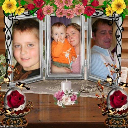 ma petite famille, ma vie en fait!!!