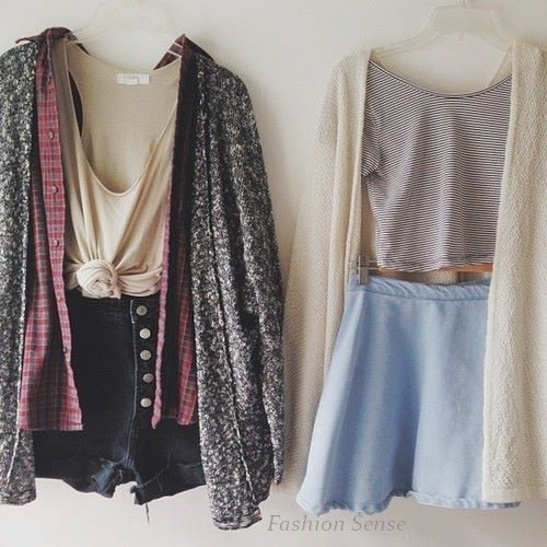 Dresses or Skirts.
