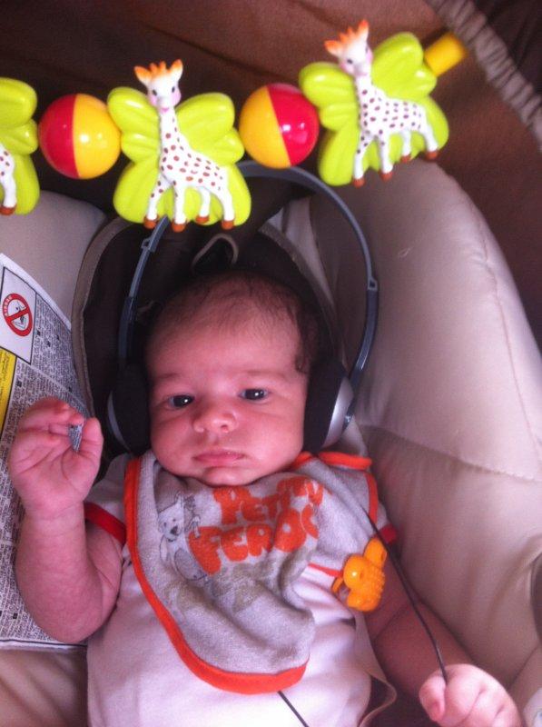 Mon fils , Nolan <3