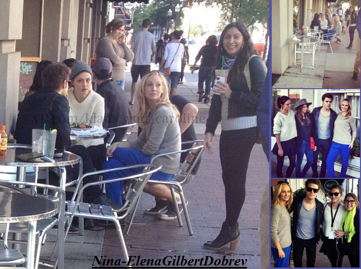 Nina, Paul, Candice et Phoebe au Savannah Film Festival 2013 le 26.10.13 !