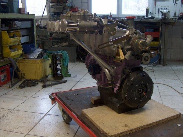 Moteurs  Renault  réalisés R5 Alpine 1550cc / R8 G  1650cc / Mégane Kit Car 1998cc