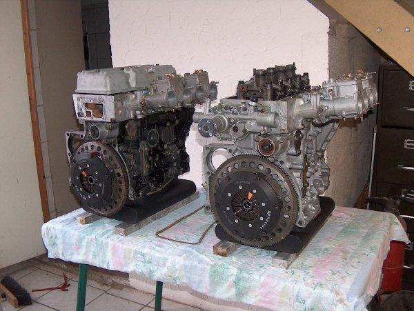réalisation de moteur R 5 turbo et Apline 1860 et 1905cc