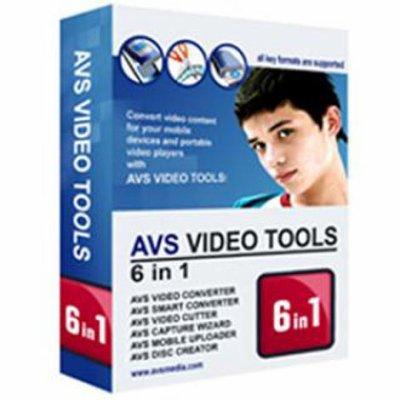 AVS Video Converter برنامج محول فيديو شامل يدعم تحويل معظم صيغ الفيديو مثل AVI, MPEG, WMV, DVD movies إلى AVI,