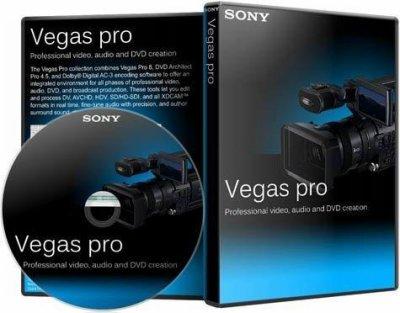 برنامج سونى العملاق SONY Vegas Pro 10.0a Build 387 لتحرير الفيديو والتعديل عليه واضافة مؤثرات