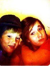 Moi et ma soeur ! :)