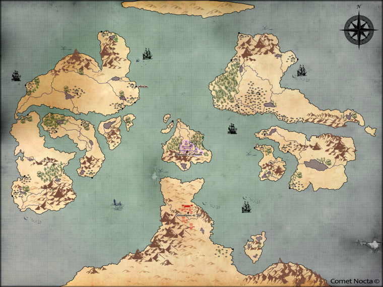 MC.R  - Carte du Monde