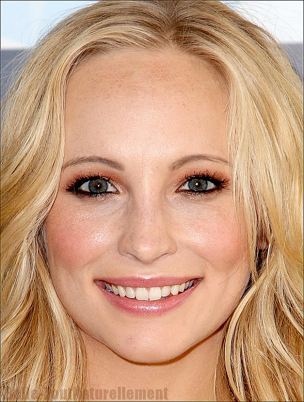 Zoom sur le maquillage de Candice Accola