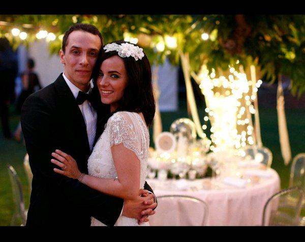 Alizée et Grégoire Lyonnet mariée