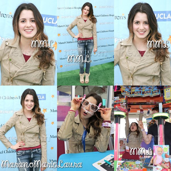 21/10/12 : Laura M. et d'autres stars Disney à la « Mattel Party On The Pier 2012 ».