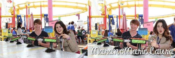 21/10/12 : Laura M. et d'autres stars Disney à la « Mattel Party On The Pier 2012 ».