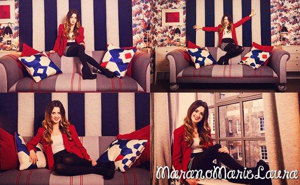 Photoshoot de la sublime Laura Marie Marano datant de 2012.