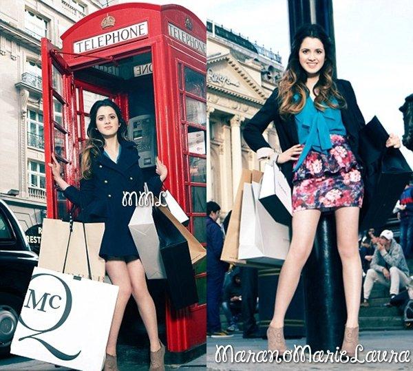 Laura a réalisée un magnifique photoshoot lors de son voyage à Londres au courant de l'année 2012.
