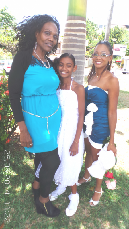 ma cousine ma fille  et moi