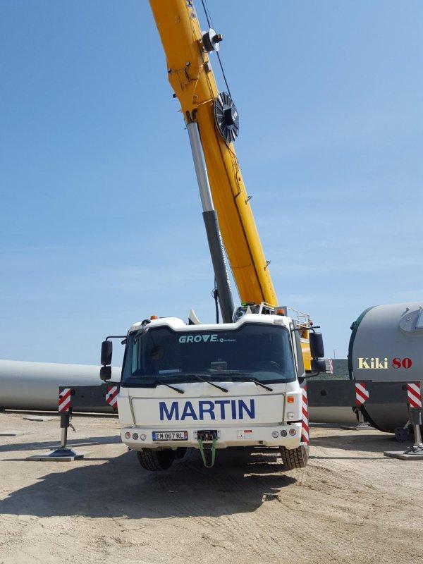 GROVE GMK 6300L MARTIN Levage