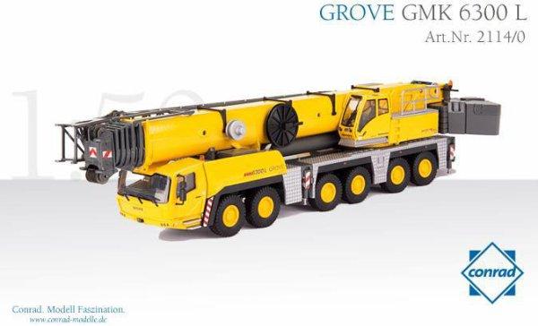 GROVE GMK 6300L
