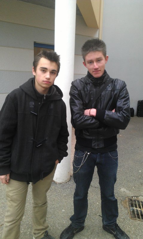 Franck et Arthur XD