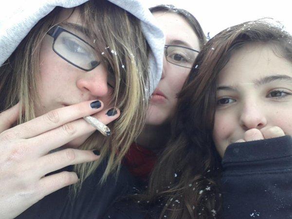 smoke on the snow
