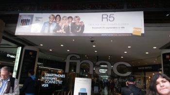 Rencontre avec les r5