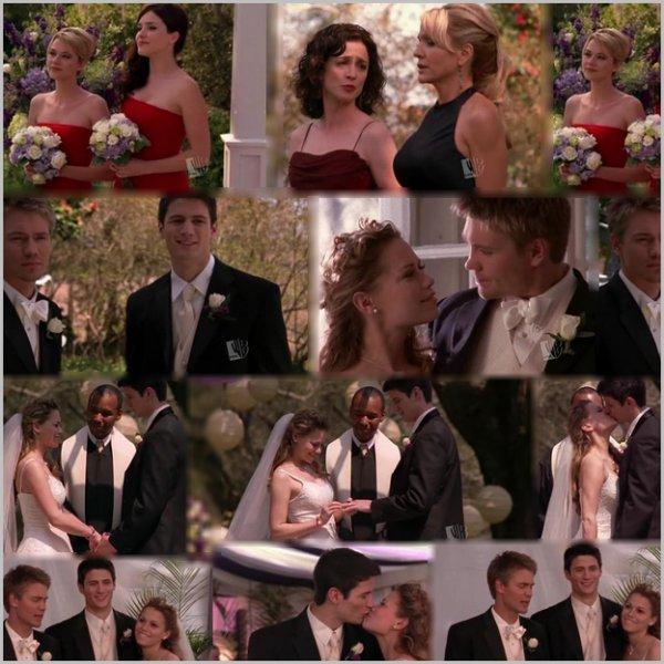 19 ème scène: Le mariage de Nathan et Haley