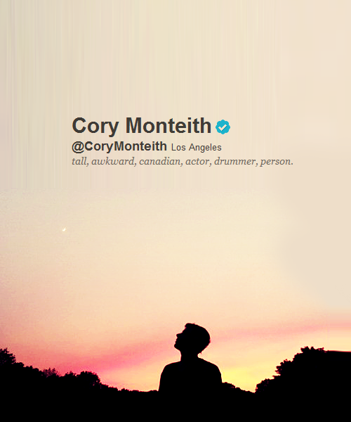 Cory Monteith, pour toujours dans nos coeurs...