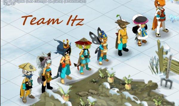 Présentation de la team Itz