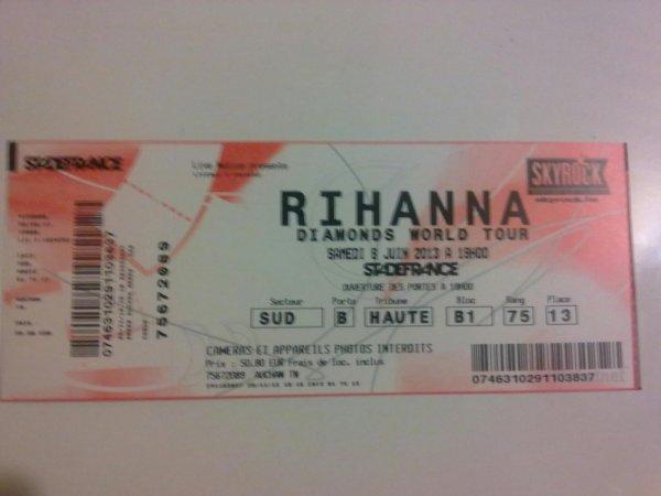 Concert de Rihanna *-*