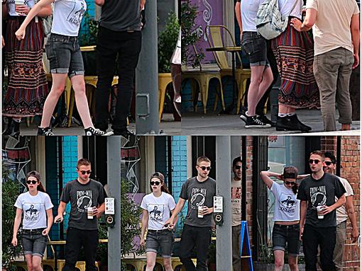 Robert et Kristen main dans la main à Los Angeles