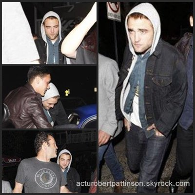 5 avril 2013 Robert Pattinson en soirée