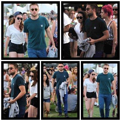 Robsten à la festival du Coachella: 2ème jour