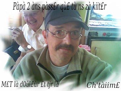 Papa 2 ans passeii ke tu nOu z'a kiiter. ♥04.03.08 :'( Un jOur Oriible kii nOu z'eii t'ariiver . ♥Je t'eiime Papa. ♥