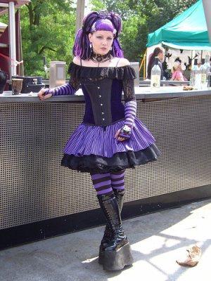 Cyber lolita (et goth)