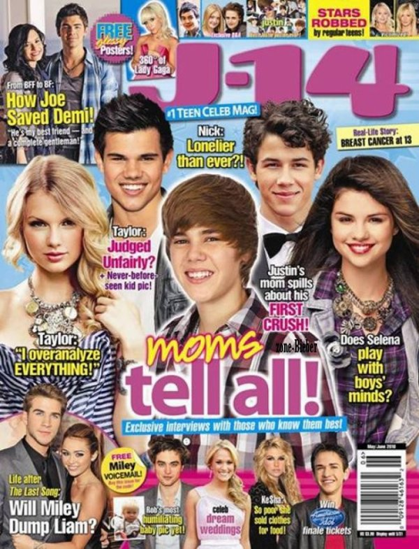 Sa maman parle de ses secrets dans J-14 Magazine !