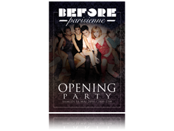 ►BEFORE-PARISIENNE #1 - OPENING PARTY - SAM 14 MAI @ CULTURE HALL