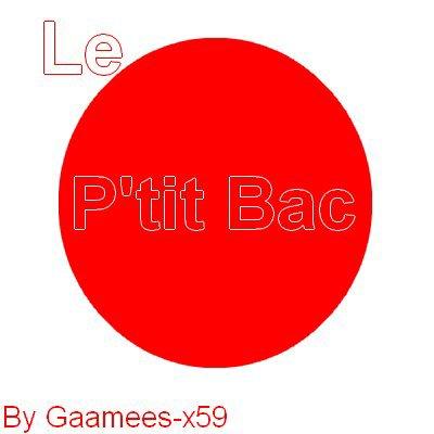 Jeux 3 :  Le Petit Bac'